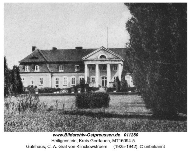 Heiligenstein, Gutshaus