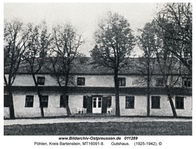 Pöhlen, Gutshaus