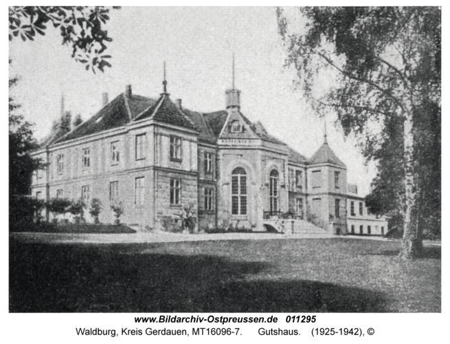 Waldburg Kr. Gerdauen, Gutshaus