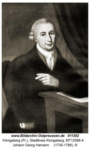 Königsberg, Johann Georg Hamann