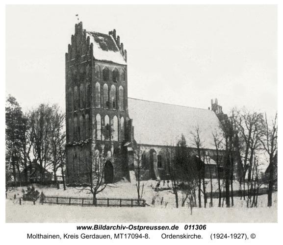 Molteinen, Ordenskirche