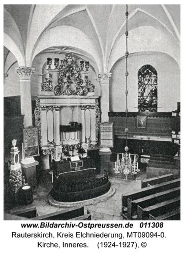 Rauterskirch, Kirche, Inneres