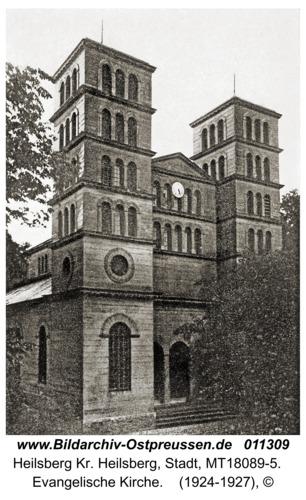 Heilsberg, Evangelische Kirche