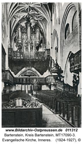 Bartenstein, Evangelische Kirche, Inneres