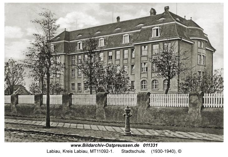 Labiau, Stadtschule