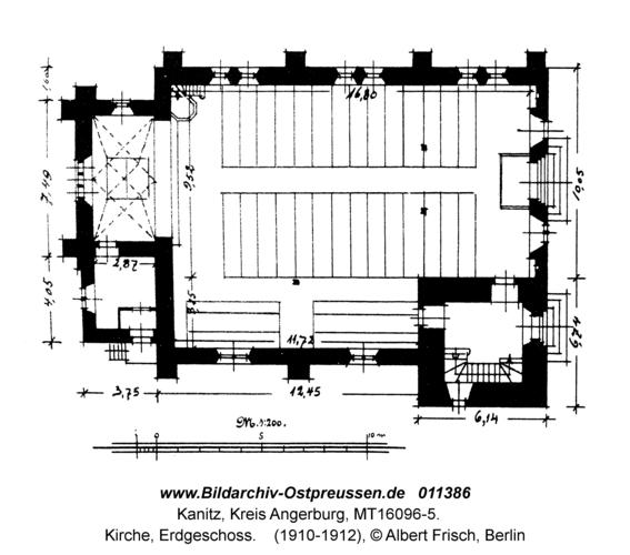 Kanitz, Kirche, Erdgeschoss
