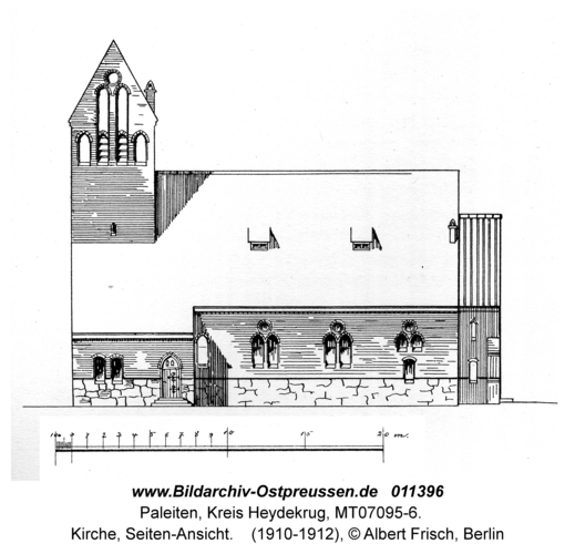 Paleiten, Kirche, Seiten-Ansicht