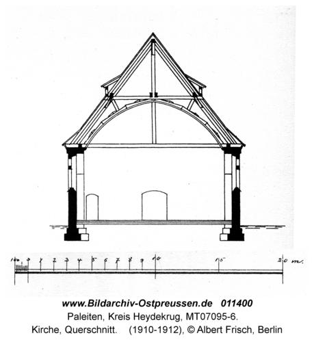 Paleiten, Kirche, Querschnitt
