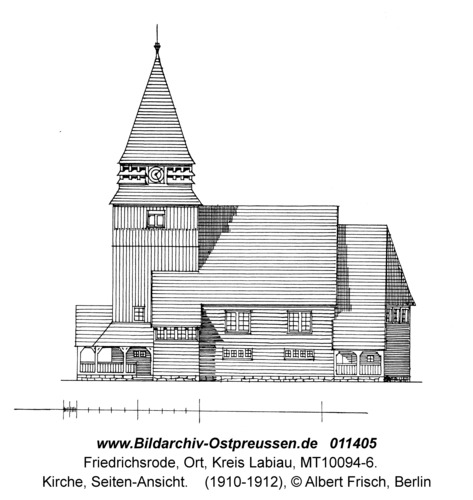 Friedrichsrode, Kirche, Seiten-Ansicht
