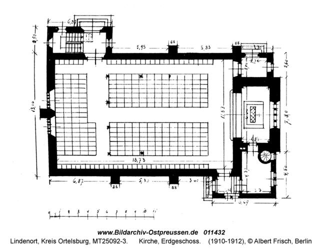Lindenort, Kirche, Erdgeschoss