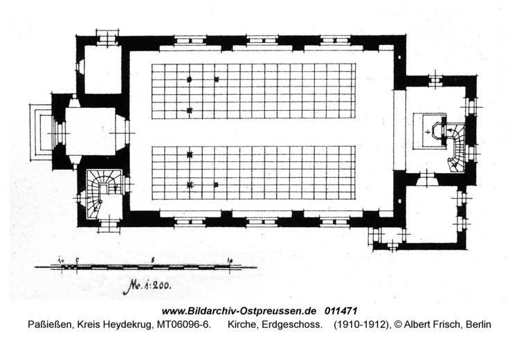 Paßießen, Kirche, Erdgeschoss