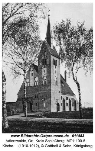 Adlerswalde, Kirche