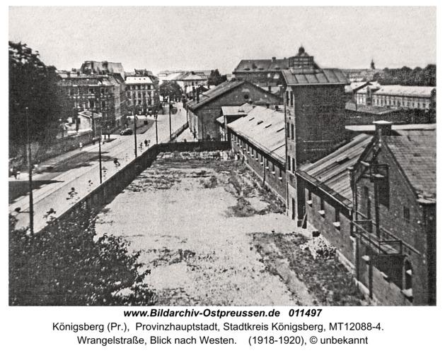 Königsberg, Wrangelstraße