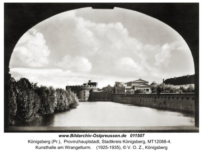 Königsberg, Kunsthalle am Wrangelturm