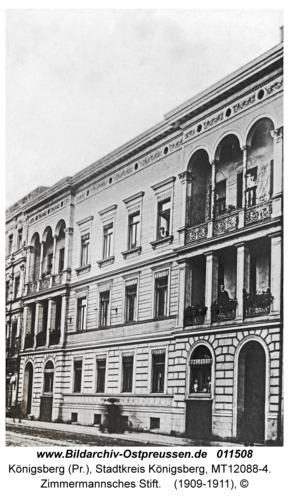 Königsberg, Zimmermannsches Stift