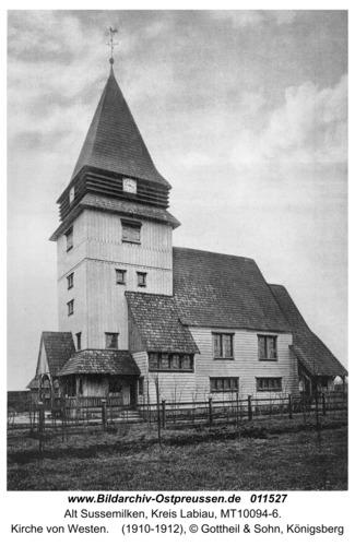 Friedrichsrode, Kirche von Westen