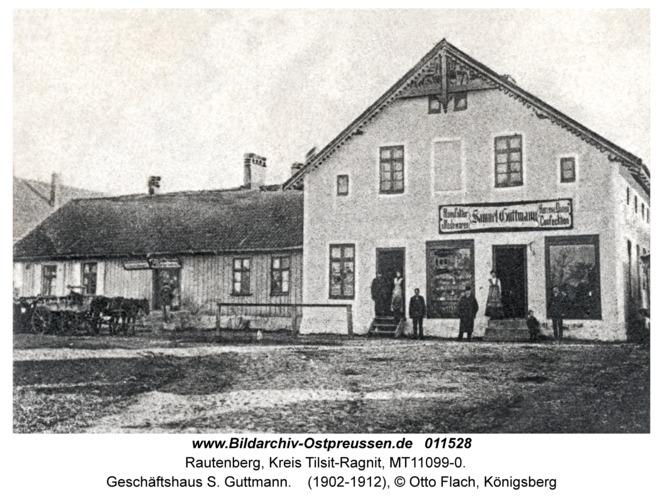 Rautenberg, Geschäftshaus S. Guttmann