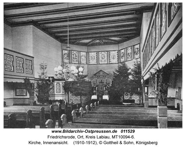 Friedrichsrode, Kirche, Innenansicht