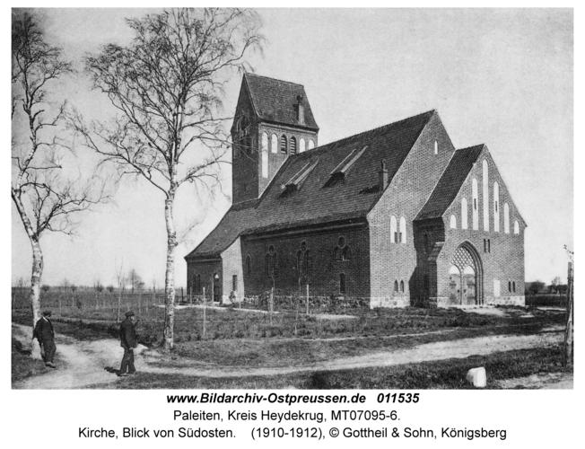 Paleiten, Kirche, Blick von Südosten