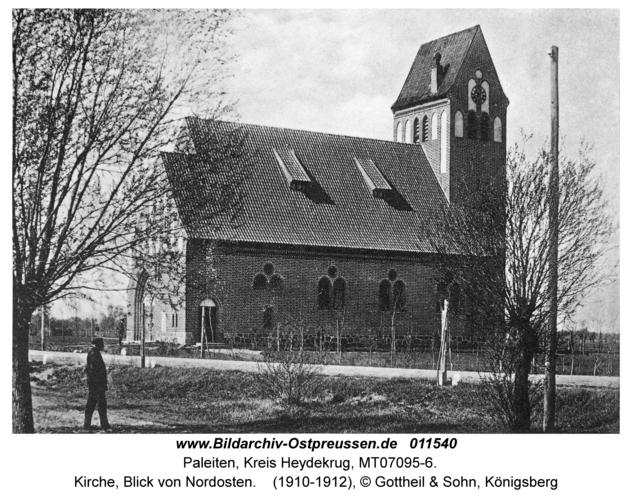 Paleiten, Kirche, Blick von Nordosten