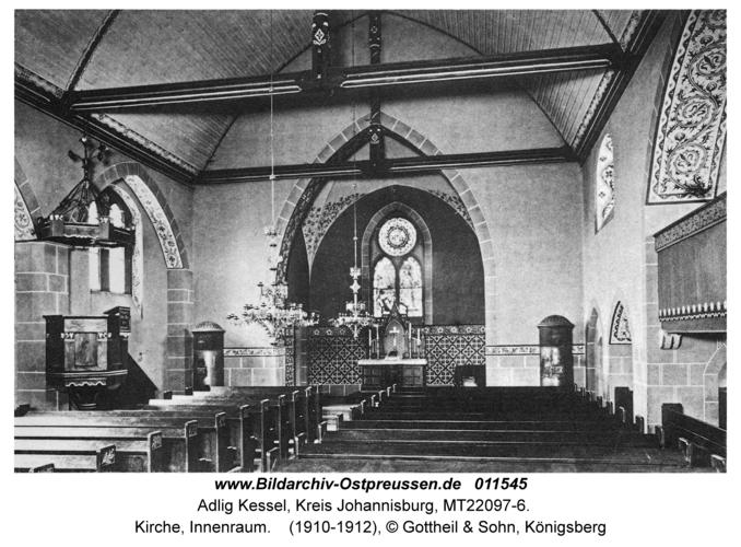 Adlig Kessel, Kirche, Innenraum