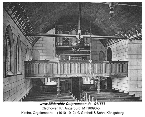 Kanitz, Kirche, Orgelempore