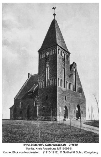 Kanitz, Kirche, Blick von Nordwesten