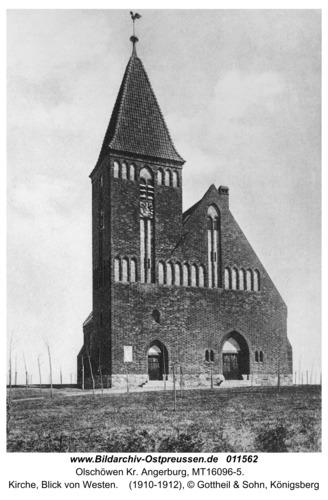 Kanitz, Kirche, Blick von Westen