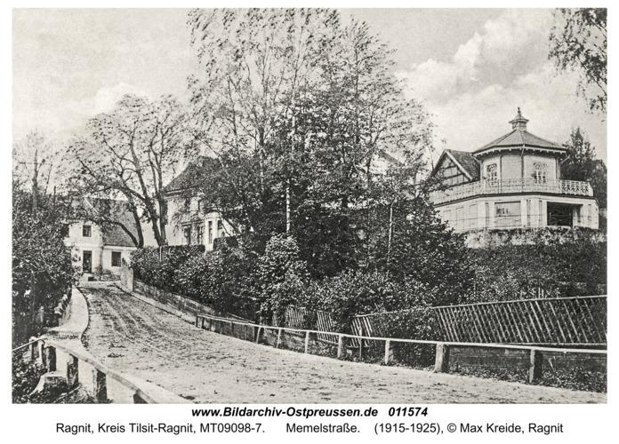 Ragnit, Memelstraße