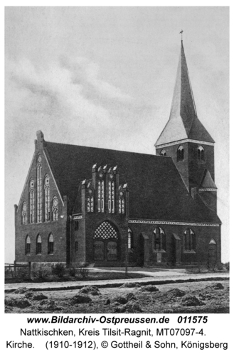 Nattkischken, Kirche