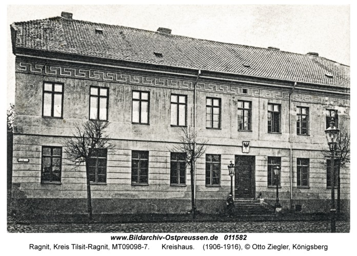 Ragnit, Kreishaus