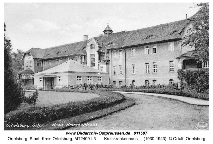 Ortelsburg, Kreiskrankenhaus