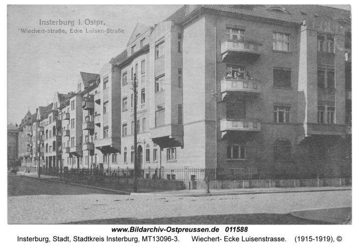 Insterburg, Wiechert- Ecke Luisenstraße