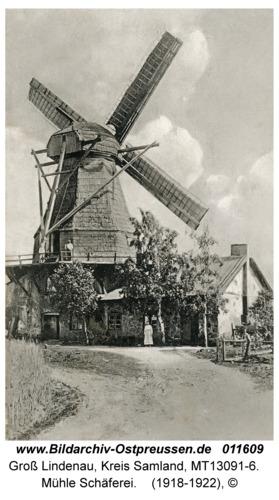 Groß Lindenau, Mühle Schäferei