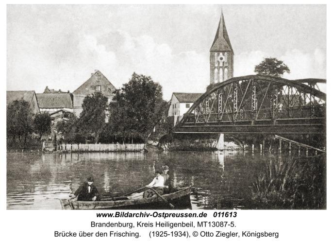 Brandenburg, Brücke über den Frisching