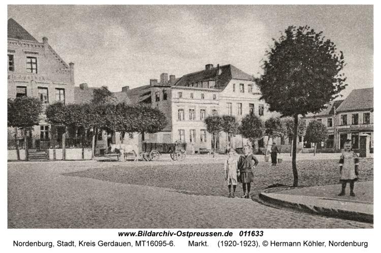 Nordenburg, Markt