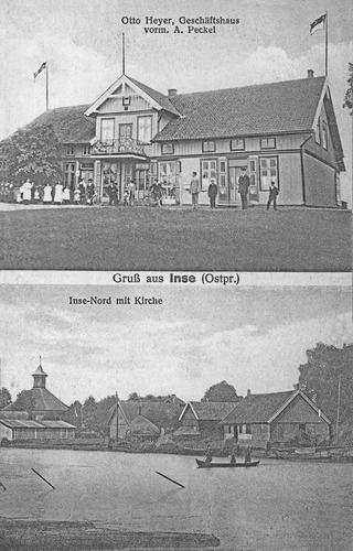 Inse, Geschäftshaus Otto Heyer, vorm. A. Peckel