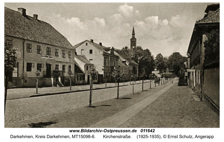 Angerapp, Kirchenstraße