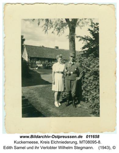 Kuckerneese, Edith Samel und ihr Verlobter Wilhelm Stegmann