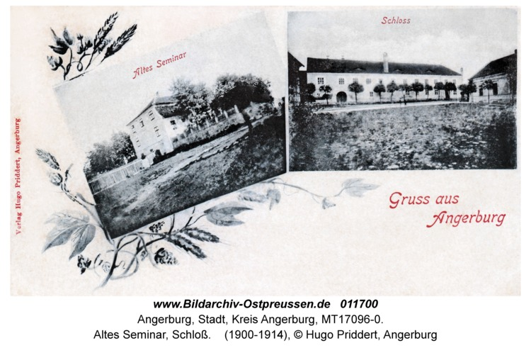 Angerburg, Altes Seminar, Schloß