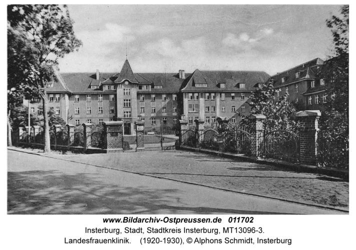 Insterburg, Landesfrauenklinik