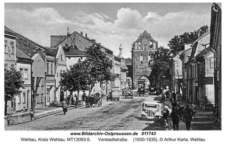 Wehlau, Vorstadtstraße