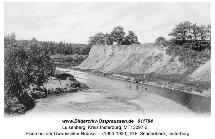 Luisenberg Kr. Insterburg, Pissa bei der Dwarischker Brücke