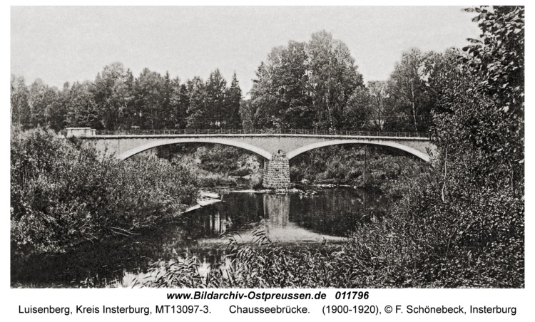 Luisenberg Kr. Insterburg, Chausseebrücke
