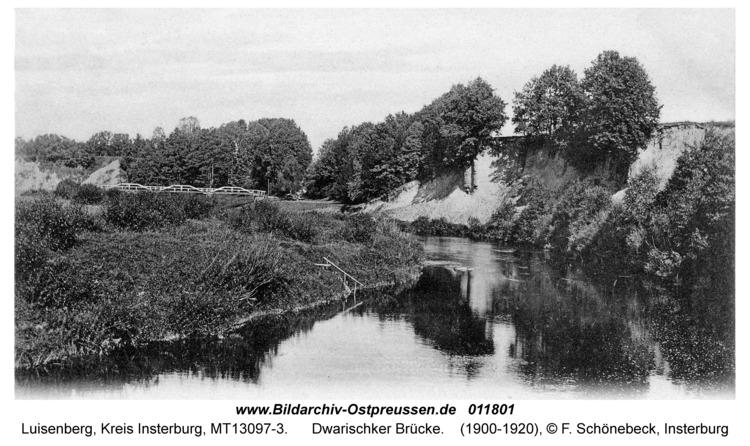 Luisenberg Kr. Insterburg, Dwarischker Brücke