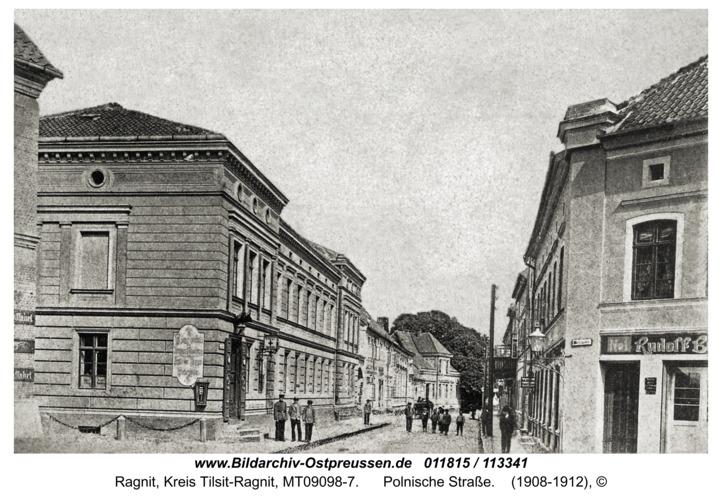 Ragnit, Polnische Straße