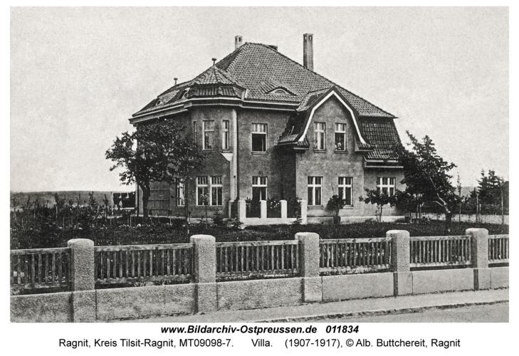 Ragnit, Villa