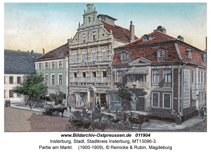 Insterburg, Partie am Markt
