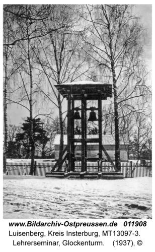 Luisenberg Kr. Insterburg, Lehrerseminar, Glockenturm