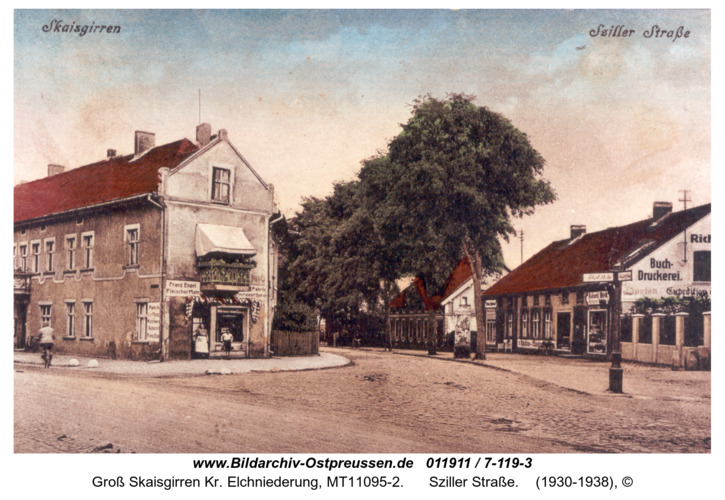 Kreuzingen, Sziller Straße